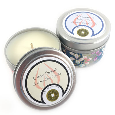 Soy Candle Tin - 4 oz.