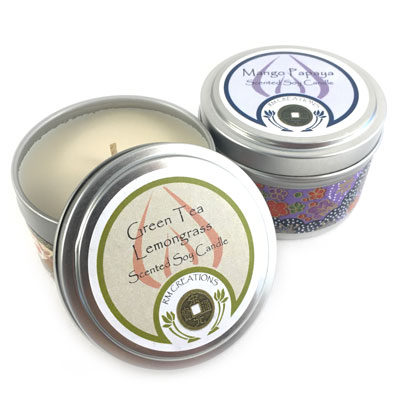 Soy Candle Tin - 6 oz.